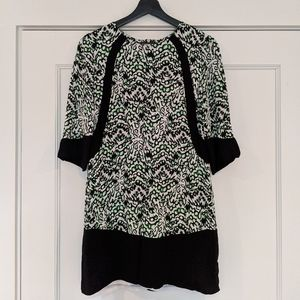 French Connection size 4 print sheath dress